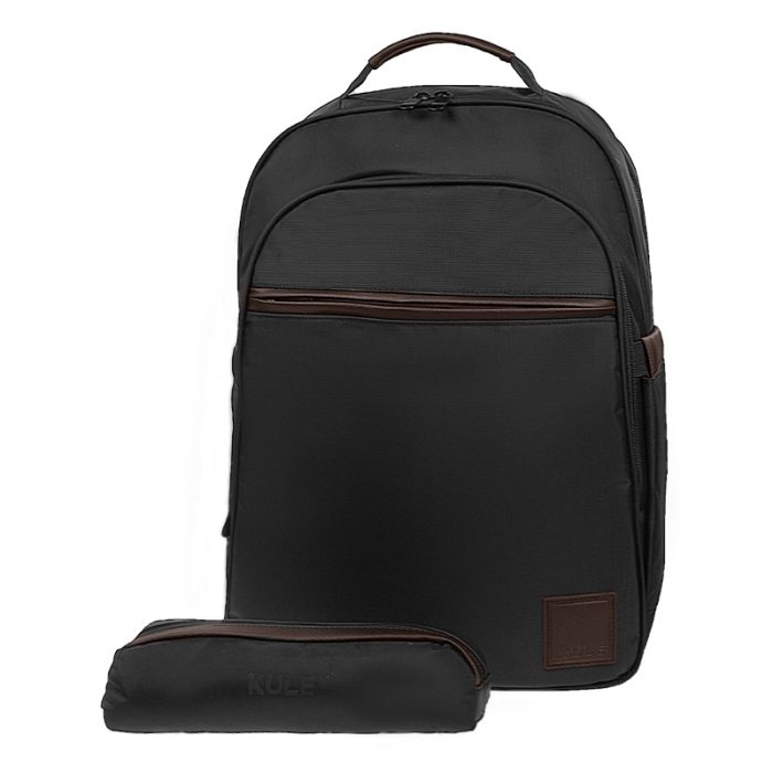 KULE KL1501-Blk-Brown with pouch
