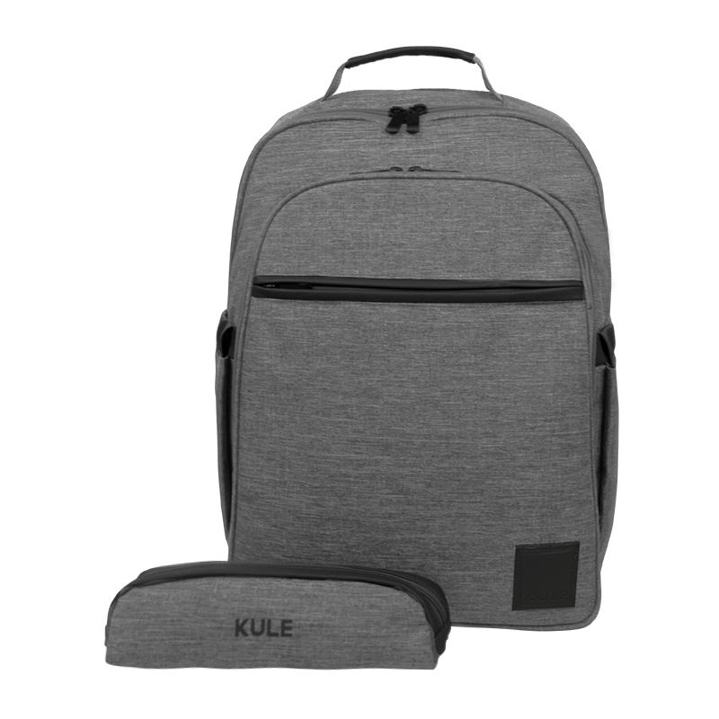 KULE KL1501-Grey-Blk with pouch